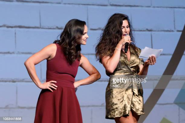 EVENTS 'NBCUniversal Short Film Festival 2018' Pictured Melissa Fumero Trace Lysette at The DGA in Los Angeles CA on October 24 2018