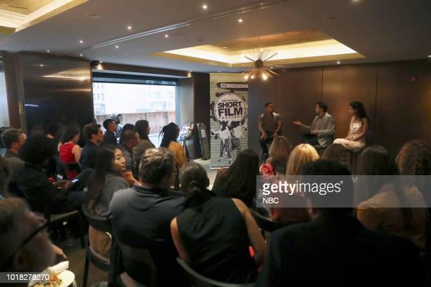 EVENTS NBCUniversal Short Film Festival Pictured Allen Maldonado Adam Moore Jandiz Cardoso
