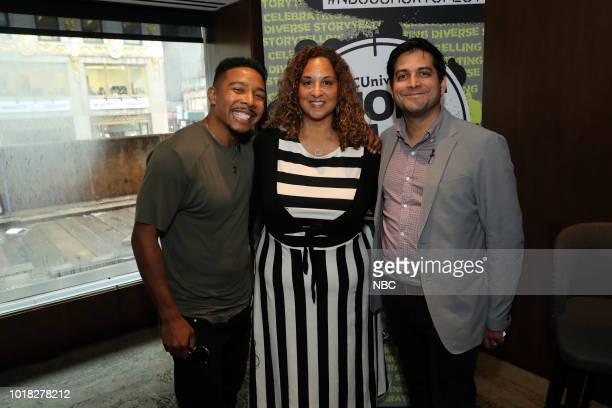 EVENTS NBCUniversal Short Film Festival Pictured Allen Maldonado Karen Horne Adam Moore