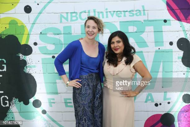 EVENTS NBCUniversal Short Film Festival Pictured Honora Talbott Melinna Bobadilla 'We Know Where You Live'