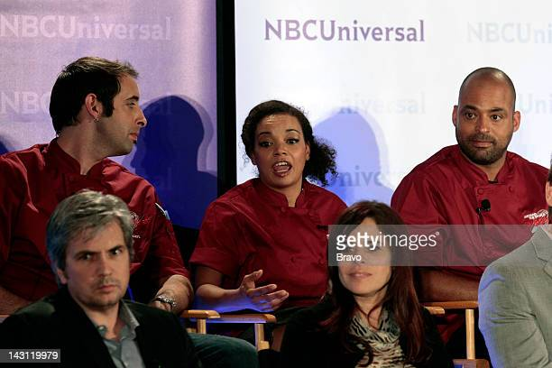EVENTS NBCUniversal Summer Press Day 2012 'Around The World in 80 Plates' Session Pictured Dan Cutforth Executive Producer Magical Elves Keven Lee...