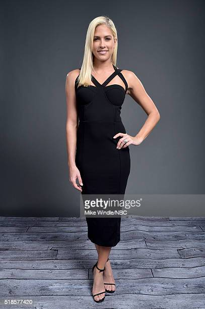 EVENTS NBCUniversal Summer Press Day April 1 2016 Pictured Barbie Blank of 'WAGS' poses for a portrait during the NBCUniversal Summer Press Day at...