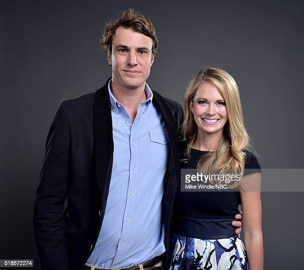 EVENTS NBCUniversal Summer Press Day April 1 2016 Pictured Shep Rose and Cameran Eubanks of 'Southern Charm' pose for a portrait during the...