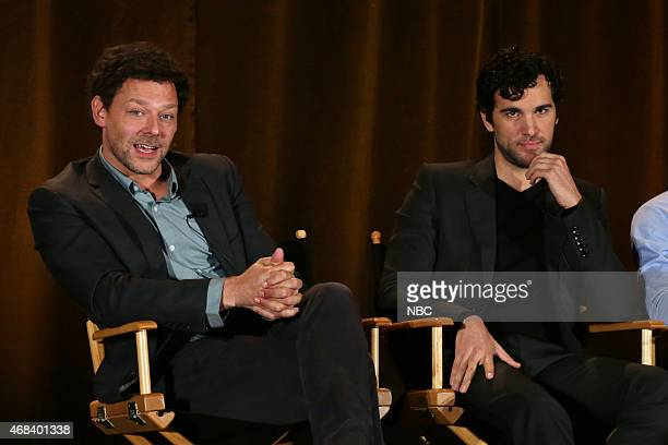 EVENTS NBCUniversal Summer Press Day April 2015 'AD The Bible Continues' Panel Pictured Richard Coyle Juan Pablo Di Pace
