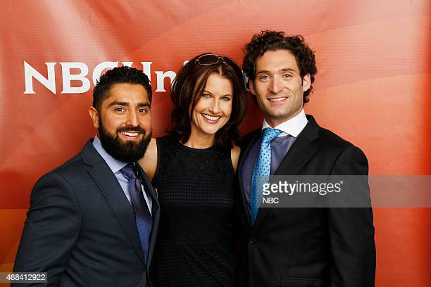 EVENTS NBCUniversal Summer Press Day April 2015 Bravo Million Dollar Listing San Francisco Pictured Roh Habibi Danielle King Executive Producer...