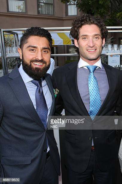 EVENTS NBCUniversal Summer Press Day April 2015 Cocktail Reception Pictured Roh Habibi Justin Fichelson Million Dollar Listing San Francisco
