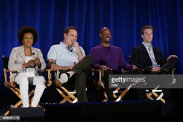 EVENTS NBCUniversal Summer Press Day April 2015 'Last Comic Standing' Panel Pictured Wanda Sykes Executive Producer Norm Macdonald Judge Keenan Ivory...