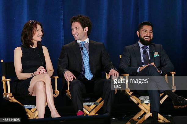 EVENTS NBCUniversal Summer Press Day April 2015 Million Dollar Listing San Francisco Panel Pictured Danielle King Executive Producer Justin Fichelson...