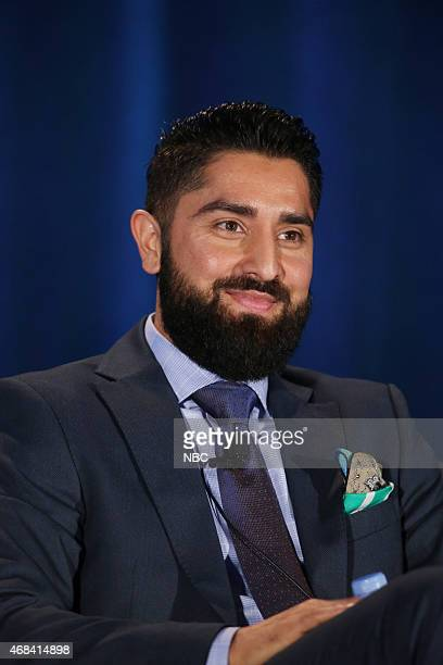 EVENTS NBCUniversal Summer Press Day April 2015 Million Dollar Listing San Francisco Panel Pictured Roh Habibi