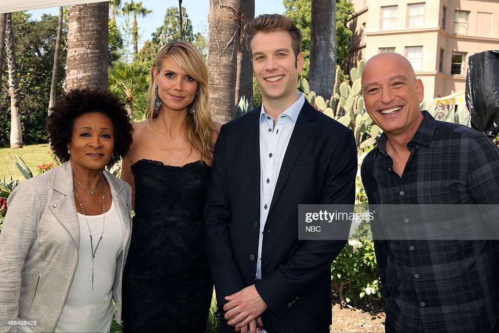 "NBCUniversal's ""Summer Press Day, April 2015"" - Horse Shoe Garden"