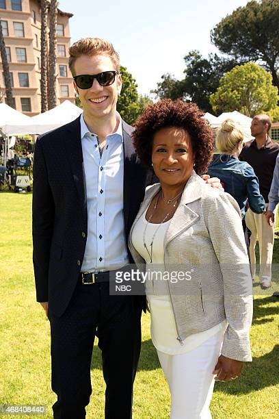 EVENTS NBCUniversal Summer Press Day April 2015 Pictured Anthony Jeselnik Wanda Sykes 'Last Comic Standing'