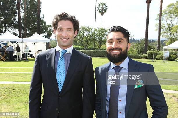 EVENTS NBCUniversal Summer Press Day April 2015 Pictured Justin Fichelson Roh Habibi Million Dollar Listing San Francisco Bravo