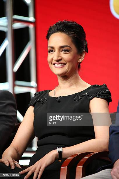 EVENTS NBCUniversal Summer Press Tour August 2 2016 NBC's 'Blindspot' Panel Pictured Archie Panjabi