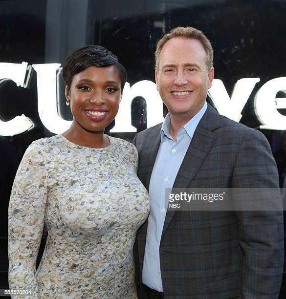 EVENTS NBCUniversal Summer Press Tour August 2 2016 Party at BOA Steakhouse Pictured Jennifer Hudson Hairspray Live Robert Greenblatt Chairman NBC...