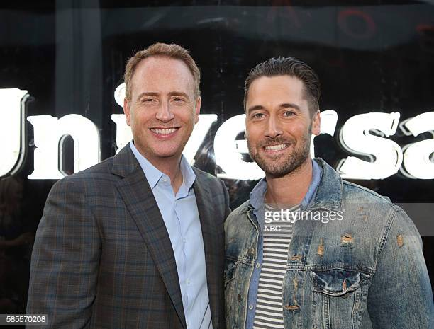 EVENTS NBCUniversal Summer Press Tour August 2 2016 Party at BOA Steakhouse Pictured Robert Greenblatt Chairman NBC Entertainment Ryan Eggold 'The...