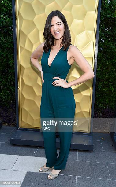 EVENTS NBCUniversal Summer Press Tour August 2 2016 Party at BOA Steakhouse Pictured D'Arcy Carden The Good Place
