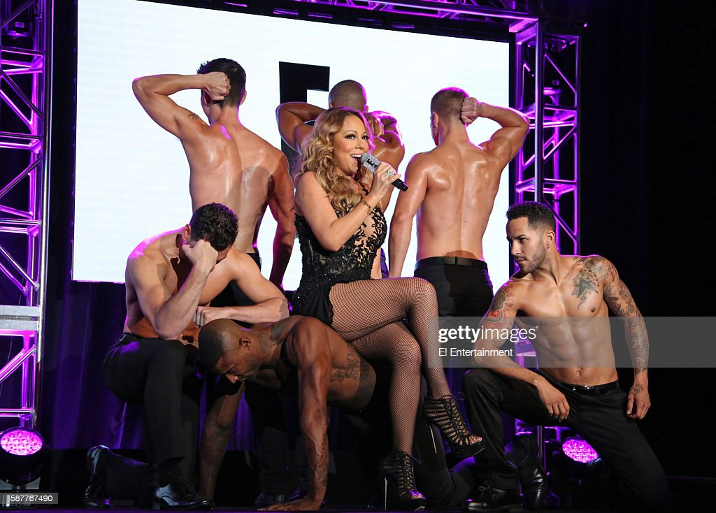 EVENTS -- NBCUniversal Summer Press Tour, August 3, 2016 -- E! Entertainment's 'Mariah's World' Panel -- Pictured: Mariah Carey --