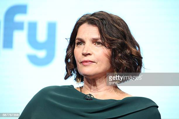 """NBCUniversal Summer Press Tour, August 3, 2016 -- Syfy's """"Incorporated"""" Panel -- Pictured: Julia Ormond --"""