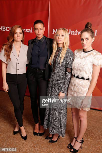 EVENTS NBCUniversal Summer Press Tour August 3 2016 USA's Mr Robot cast Pictured Grace Gummer Stephanie Corneliussen Portia Doubleday Carly Chaikin