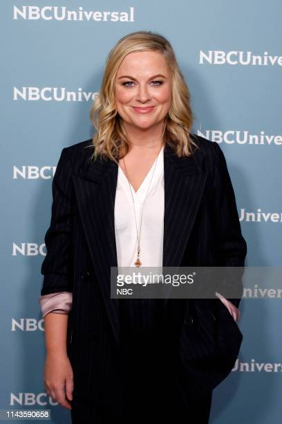 NBCUniversal Upfront in New York City on Monday May 13 2019 Pictured Amy Poehler Making It on NBC