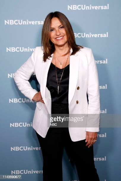 NBCUniversal Upfront in New York City on Monday May 13 2019 Pictured Mariska Hargitay Law Order Special Victims Unit on NBC