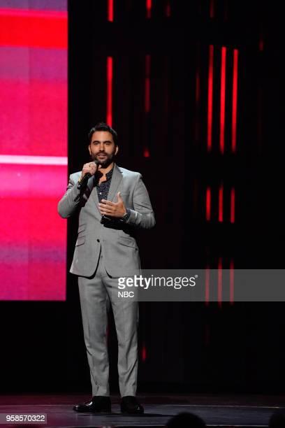 NBCUniversal Upfront in New York City on Monday May 14 2018 Pictured Ignacio Serricchio 'El Recluso' on Telemundo