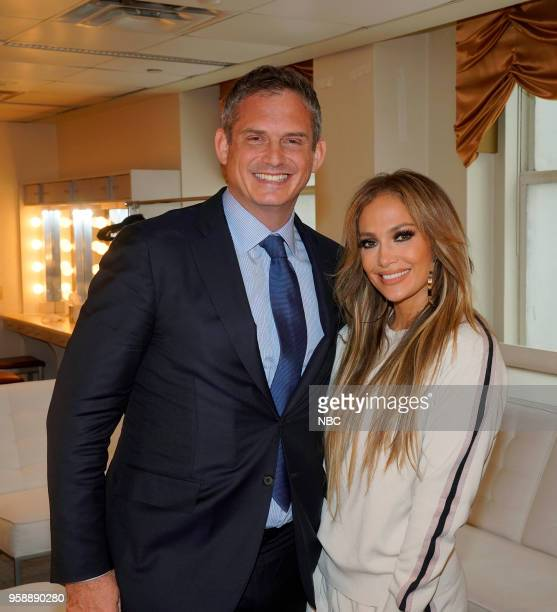 NBCUniversal Upfront in New York City on Monday May 14 2018 Pictured Paul Telegdy President Alternative Reality Group NBC Entertainment Universal...