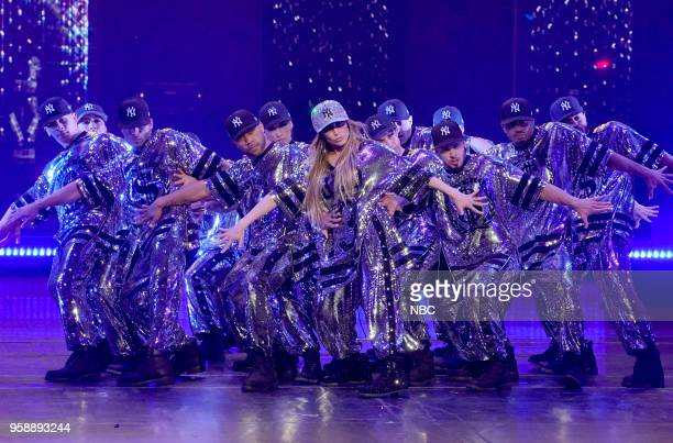 NBCUniversal Upfront in New York City on Monday May 14 2018 Pictured Jennifer Lopez of World of Dance performs