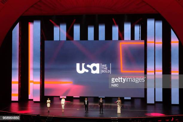 NBCUniversal Upfront in New York City on Monday May 14 2018 Pictured Alice Braga 'Queen of the South' Katherine Heigl 'Suits' Ryan Phillippe...