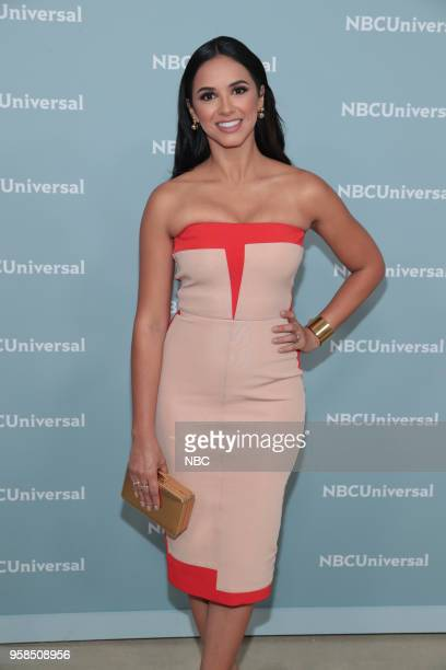 NBCUniversal Upfront in New York City on Monday May 14 2018 Red Carpet Pictured Ana Jurka 'Titulares y Mas' on Telemund