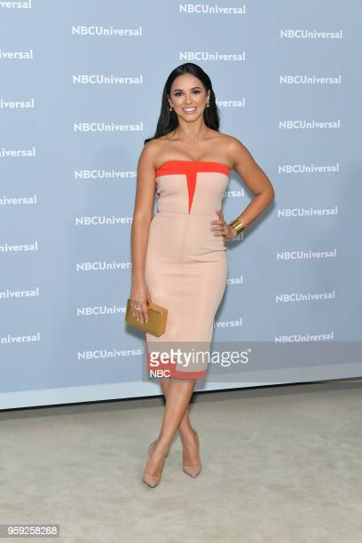 NBCUniversal Upfront in New York City on Monday May 14 2018 Red Carpet Pictured Ana Jurka 'Titulares y Mas' on Telemundo