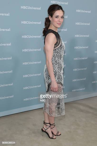 NBCUniversal Upfront in New York City on Monday May 14 2018 Red Carpet Pictured Marina Squerciati Chicago PD on NBC