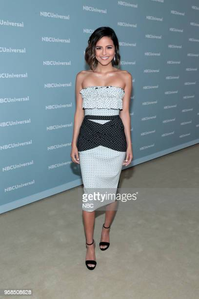 NBCUniversal Upfront in New York City on Monday May 14 2018 Red Carpet Pictured Pictured Erin Lim 'E News' on E Entertainment