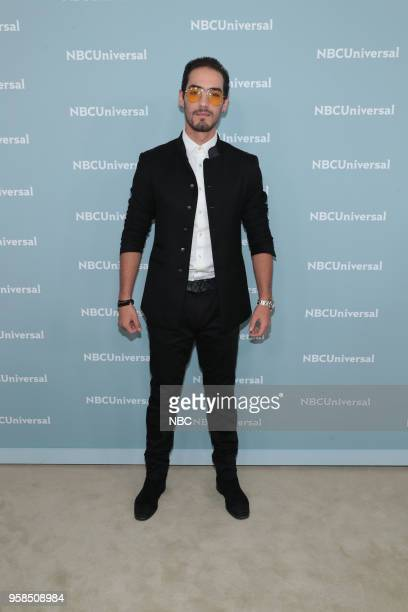 NBCUniversal Upfront in New York City on Monday May 14 2018 Red Carpet Pictured Michel Duval 'Señora Acero' on Telemundo