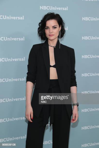 NBCUniversal Upfront in New York City on Monday May 14 2018 Red Carpet Pictured Jaime Alexander 'Blindspot' on NBC