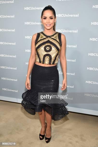 NBCUniversal Upfront in New York City on Monday May 14 2018 Red Carpet Pictured Carmen Villalobos 'Sin Senos Si Hay Paraiso' on Telemundo
