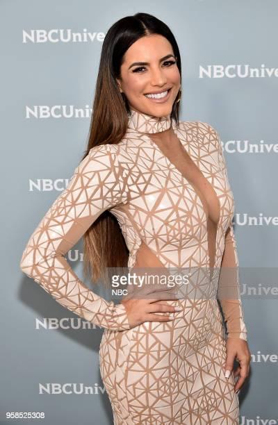 NBCUniversal Upfront in New York City on Monday May 14 2018 Red Carpet Pictured Gaby Espino 'Telemundo Talent' on Telemundo