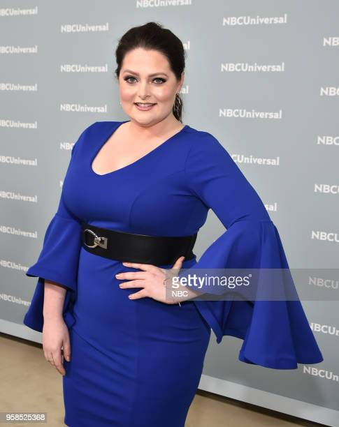 NBCUniversal Upfront in New York City on Monday May 14 2018 Red Carpet Pictured Lauren Ash 'SuperStore' on NBC