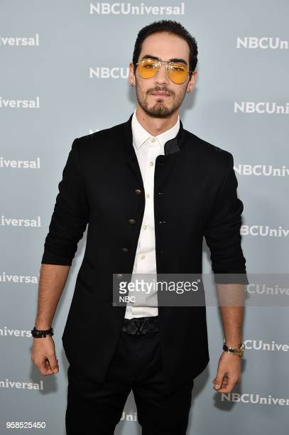 NBCUniversal Upfront in New York City on Monday May 14 2018 Red Carpet Pictured Michel Duval 'Senora Acero' on Telemundo