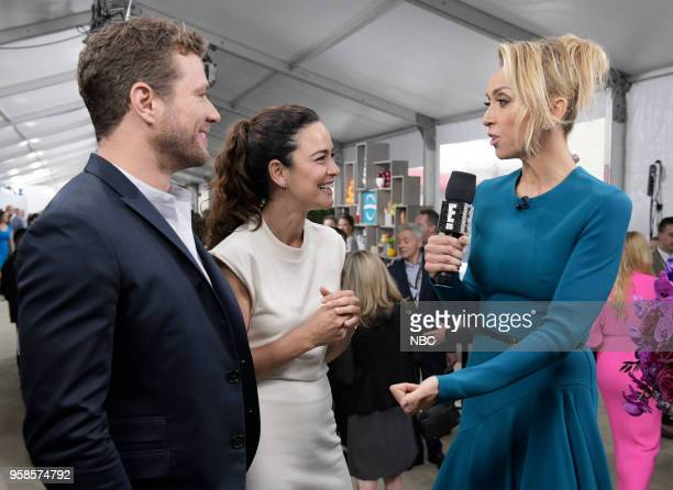 NBCUniversal Upfront in New York City on Monday May 14 2018 Red Carpet Pictured Ryan Phillippe 'Shooter' on USA Network Alice Braga 'Queen of the...