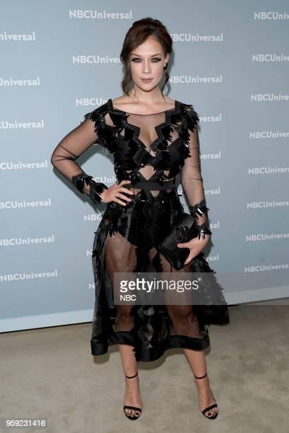 NBCUniversal Upfront in New York City on Monday May 14 2018 Red Carpet Pictured Carolina Miranda Señora Acero La Coyote on Telemundo