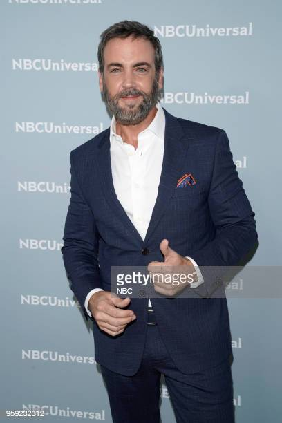 NBCUniversal Upfront in New York City on Monday May 14 2018 Red Carpet Pictured Carlos Ponce on Telemundo