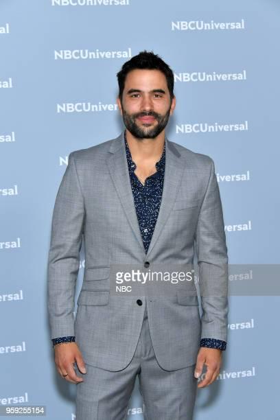 NBCUniversal Upfront in New York City on Monday May 14 2018 Red Carpet Pictured Ignacio Serricchio 'El Recluso' on Telemundo