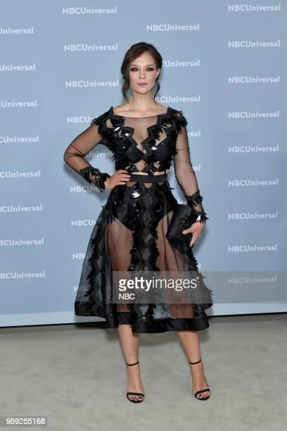 NBCUniversal Upfront in New York City on Monday May 14 2018 Red Carpet Pictured Carolina Miranda 'Señora Acero' on Telemundo