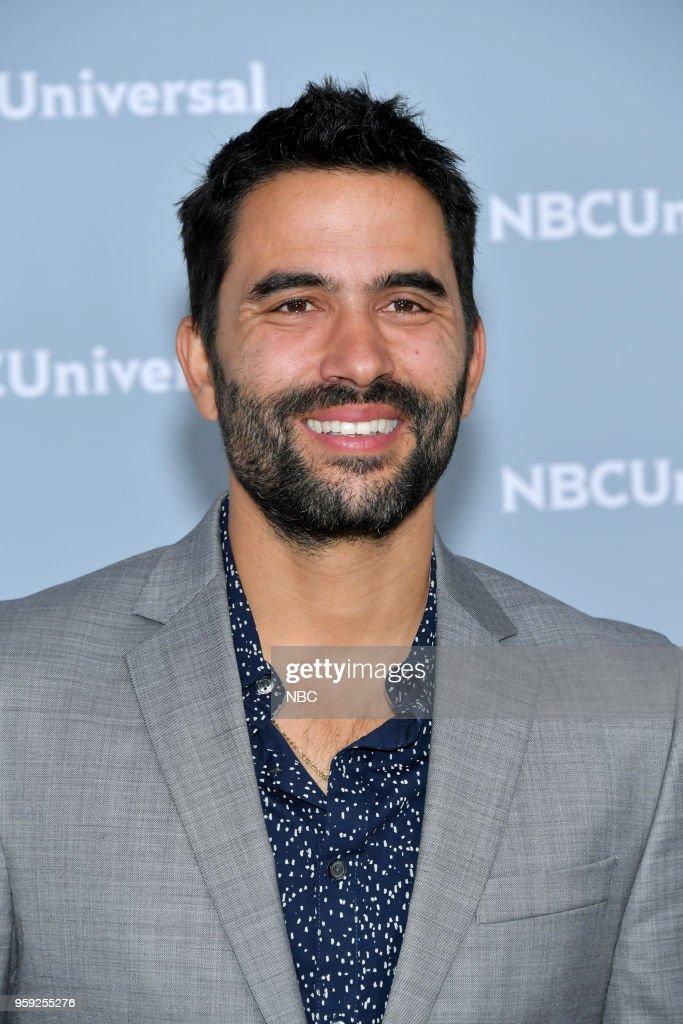 NBCUniversal Upfront in New York City on Monday, May 14, 2018 -- Red Carpet -- Pictured: Ignacio Serricchio, 'El Recluso' on Telemundo --