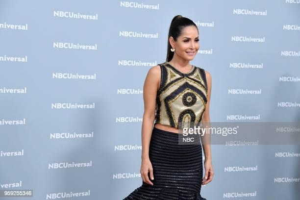 NBCUniversal Upfront in New York City on Monday May 14 2018 Red Carpet Pictured Carmen Villalobos Sin Senos Si Hay Paraiso on Telemundo