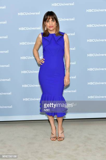 NBCUniversal Upfront in New York City on Monday May 14 2018 Red Carpet Pictured Natalie Morales Abby's on NBC