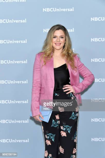 NBCUniversal Upfront in New York City on Monday May 14 2018 Red Carpet Pictured Harriet Dyer 'The InBetween' on NBC