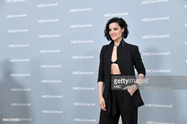 NBCUniversal Upfront in New York City on Monday May 14 2018 Red Carpet Pictured Jaimie Alexander 'Blindspot' on NBC