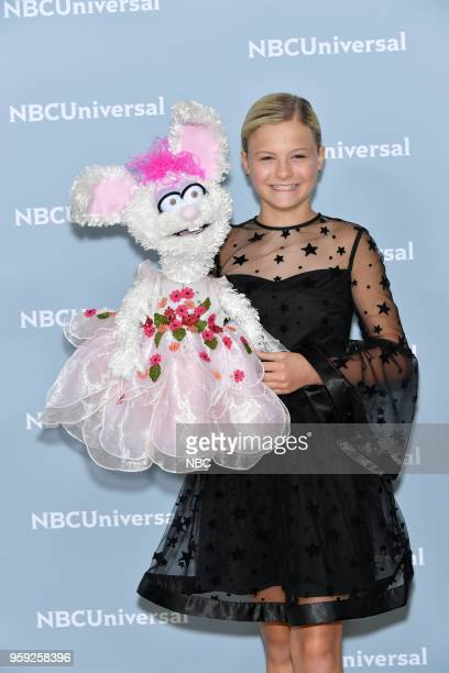 NBCUniversal Upfront in New York City on Monday May 14 2018 Red Carpet Pictured Darci Lynne 'America's Got Talent' on NBC